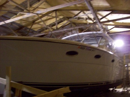 Maryland Fiberglass Boat Repairs and Maintenance Service
