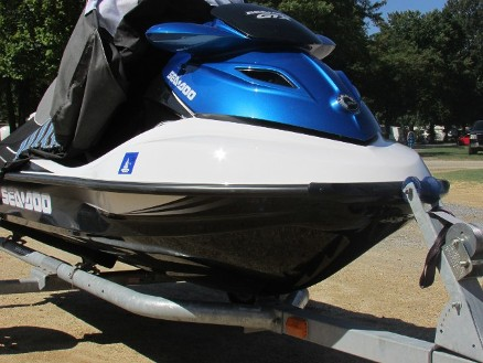 Fiberglass Fracture Repair on a Sea Doo in Chesapeake Beach, Maryland